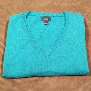 J Crew Merino Wool V-Neck Sweater